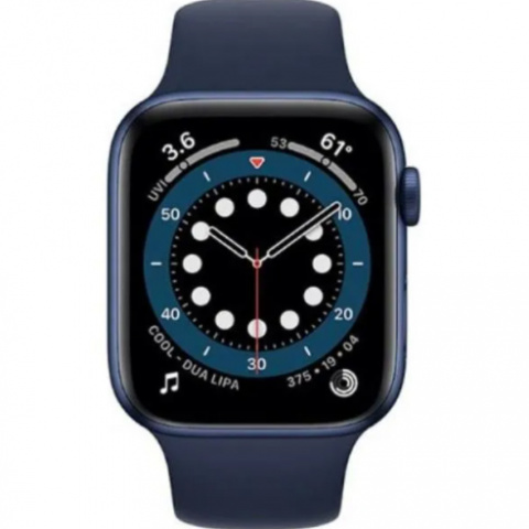 Apple Watch 6 40mm (MG143) Blue Aluminum Case with Sport Band Deep Navy costel.md