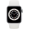 Apple Watch 6 40mm (MG283) Silver Aluminum Case with Sport Band / White