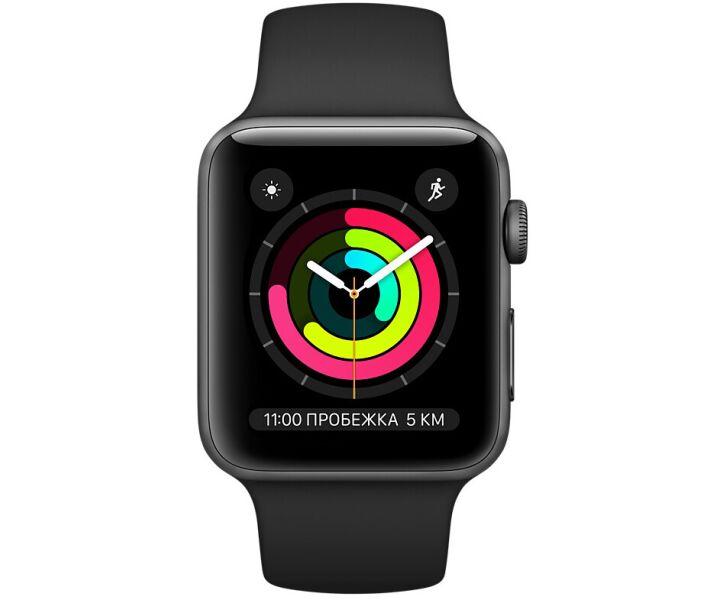 Apple Watch Series 3 38mm MTF02 grey black costel.md