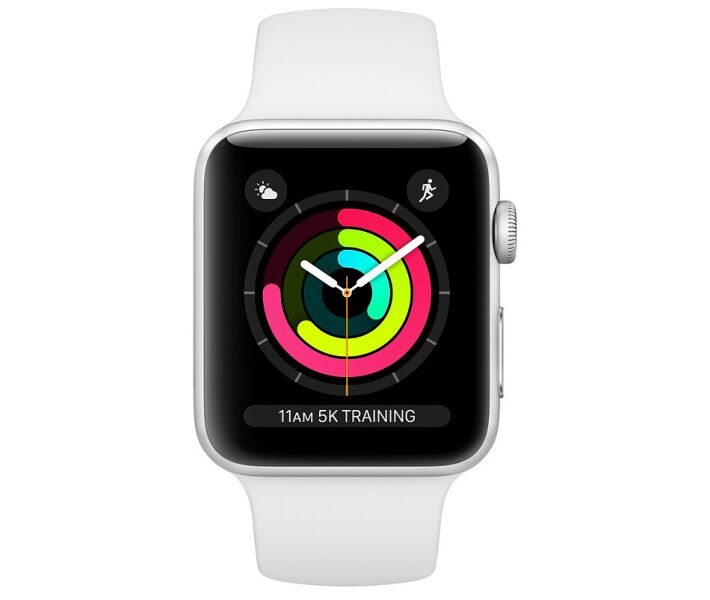 Apple Watch Series 3 38mm silver white costel.md