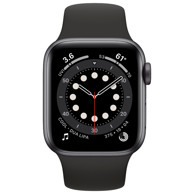 Apple Watch Series 6 44mm Gray Black costel.md_1