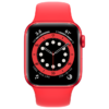Apple Watch 6 44mm (M00M3) Red Aluminum Case with Sport Band / Red
