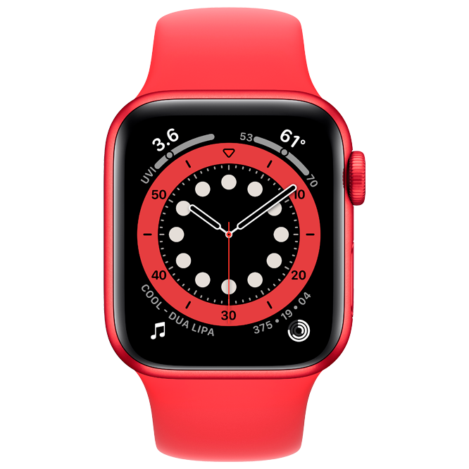 Apple Watch Series 6 44mm Red costel.md_1