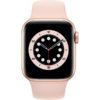Apple Watch 6 40mm (MG123) Gold Aluminium Case with Pink Sand Sport Band