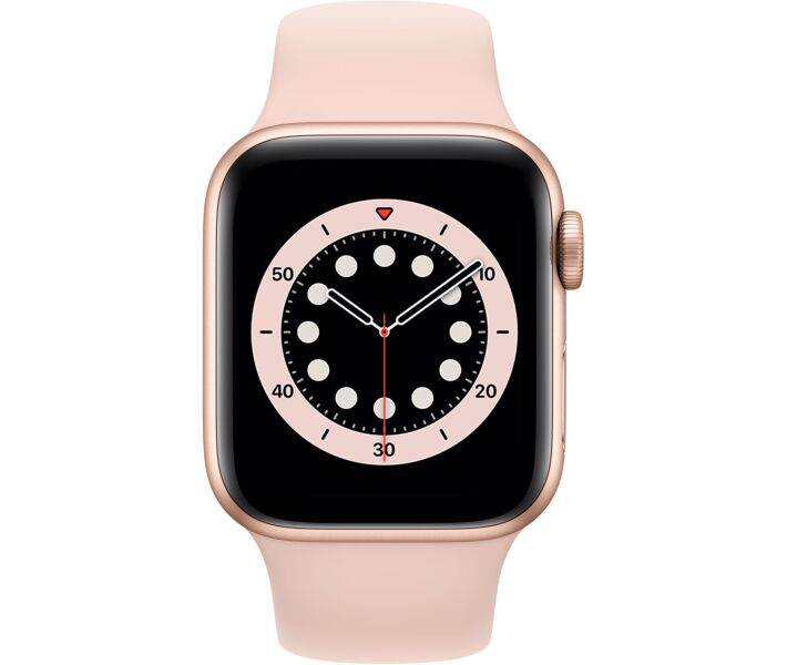 Apple Watch Series 6 GPS 40mm Gold Aluminium Case with Pink Sand Sport Band (MG123) costel.md_1