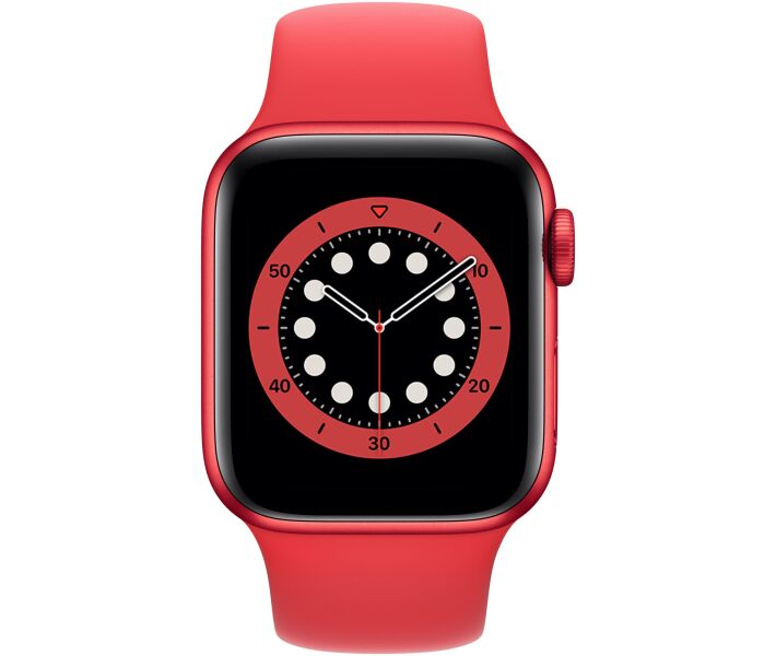Apple Watch Series 6 GPS 40mm PRODUCT(RED) Aluminium Case with PRODUCT(RED) Sport Band (M00A3) costel.md_1